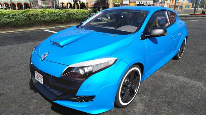Photo of GTA V – Renault Megane RS 250-3 2010 Model