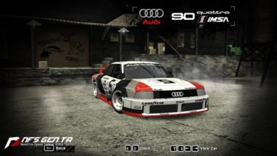 Photo of NFS Most Wanted – Audi 90 Quattro IMSA GTO