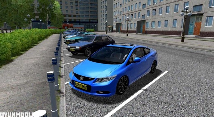 Photo of City Car Driving 1.5.2 – Honda Civic Si 2013 Model Araba Yaması