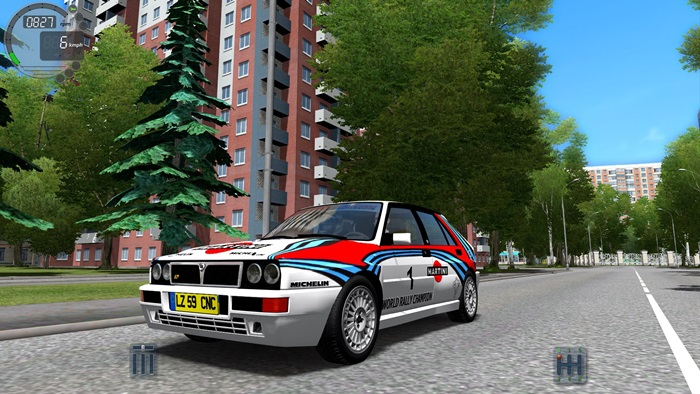 Photo of City Car Driving 1.5.3 – Lancia Delta Integrale Araba Yaması