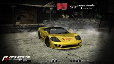 Photo of NFS Most Wanted – Saleen S7 AWD Twin Turbo