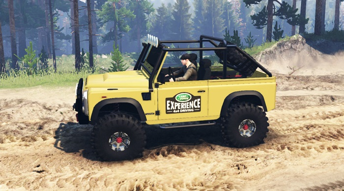 Photo of Spintires 2014 – Land Rover Defender 90
