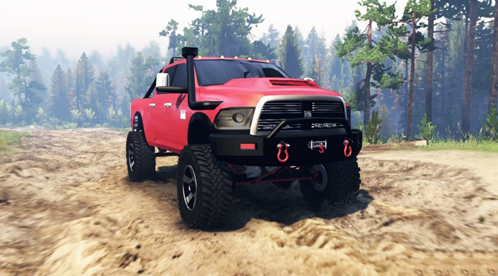 Photo of Spintires 2014 – Dodge Ram 2500 Pickup Yaması