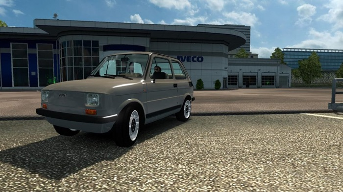 Photo of Euro Truck Simulator 2 – Fiat 126 Araba Yaması