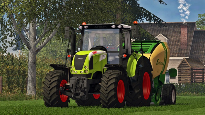 Photo of Farming Simulator 2015 – Claas Arion 620 Traktör V2