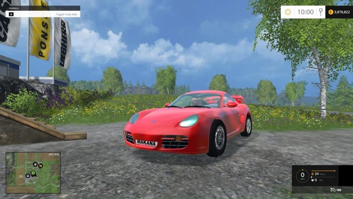 Photo of Farming Simulator 2015 – Porsche Cayman S Final