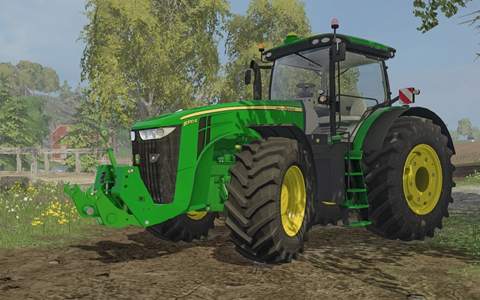 Photo of Farming Simulator 2015 – John Deere 8R Traktör V2.2