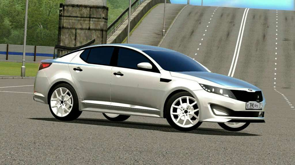 Photo of City Car Driving 1.5.x Kia Optima SX 2016 Model Araba Yaması