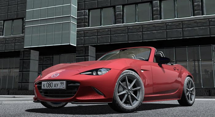 Photo of City Car Driving 1.5.3 – Mazda MX-5 ND Miata 2016 Model Araba Yaması