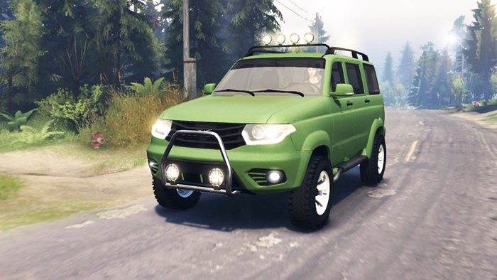 Photo of Spintires 2014 – UAZ Patriot Araba Yaması