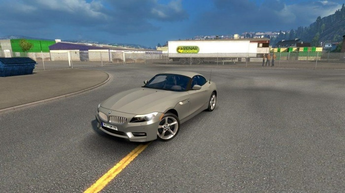 Photo of Euro Truck 2 – BMW Z4 Araba Yaması