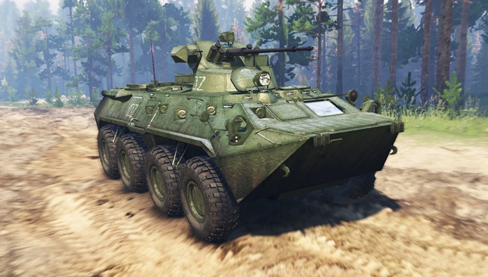 Photo of Spintires 2014 – BTR 82A (GAZ-59034) Tank Yaması