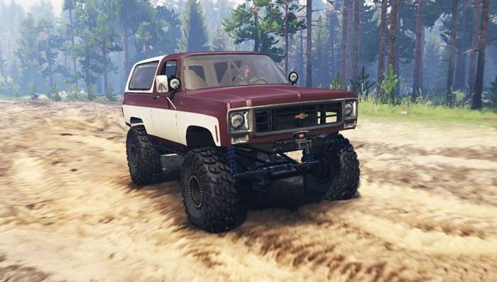 Photo of Spintires 2014 – Chevrolet K5 Blazer
