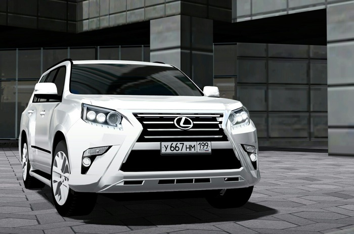 Photo of City Car Driving 1.5.1-1.5.4 – Lexus GX460 2014 Model Araba Yaması