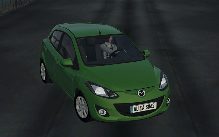 Photo of City Car Driving 1.5.1-1.5.4 – Mazda 2 Araba Yaması