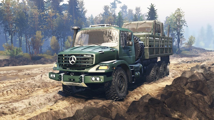 Photo of Spintires 2014 – Mercedes-Benz Zetros 2733 A Kamyon V6.1
