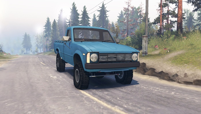 Photo of Spintires 2014 – Toyota Hilux 1981 Model
