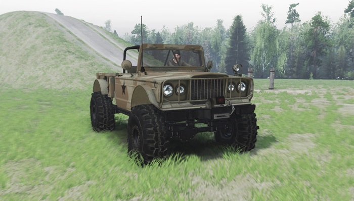 Photo of Spintires 2014 – Jeep M715
