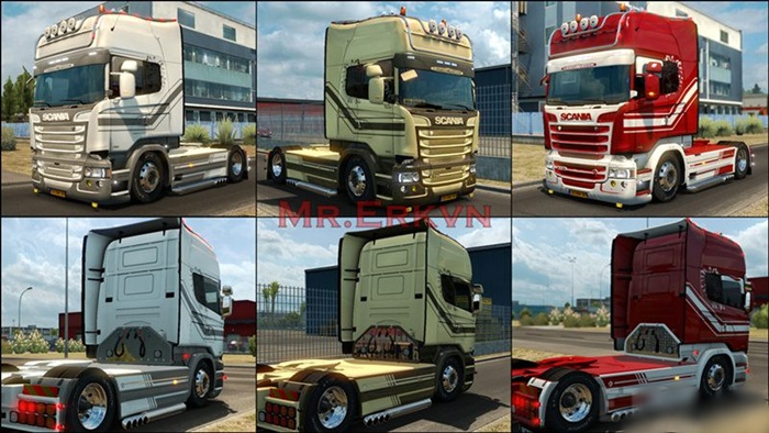 Photo of Euro Truck 2 – Scania RJL Hollanda Boya Paketi [1.27]