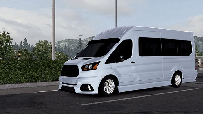 Photo of Euro Truck 2 – Ford Transit 2016 Model [1.28.x]