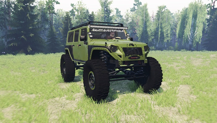 Photo of Spintires 2014 – Jeep Wrangler Rubicon