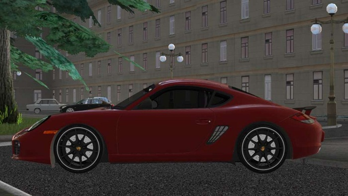 Photo of City Car Driving 1.5.2/1.5.4 – Porshe Cayman R Araba Yaması
