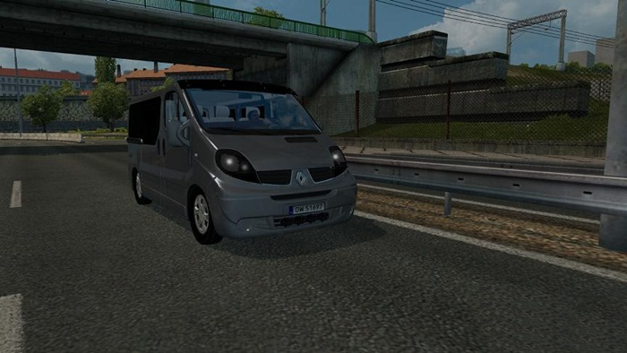 Photo of Euro Truck 2 – Renault Trafik Aracı V1 [1.28]