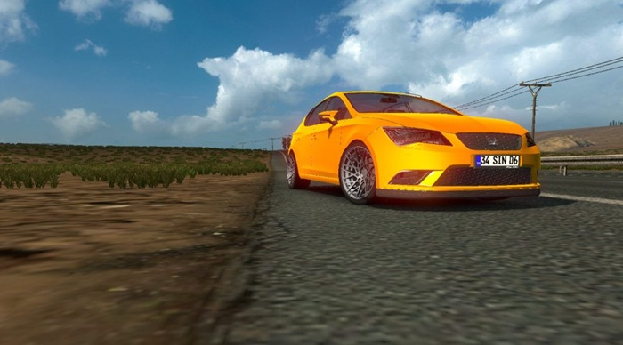 Photo of Euro Truck 2 – Seat Leon FR Araba Yaması [1.27]
