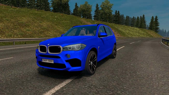 Photo of Euro Truck 2 – BMW X5M 2016 Model Araba Yaması V1 [1.28]