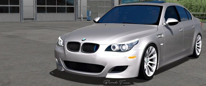 Photo of Euro Truck 2 – BMW 5 Serisi E60 Paketi V2 [1.28]