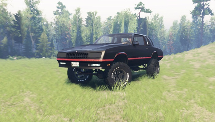 Photo of Spintires 2014 – Chevrolet Monte Carlo SS 1986 Model