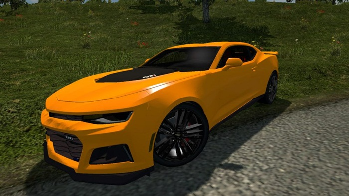 Photo of Euro Truck 2 – Chevrolet Camaro 2017 ZL1 0.1 [1.28]