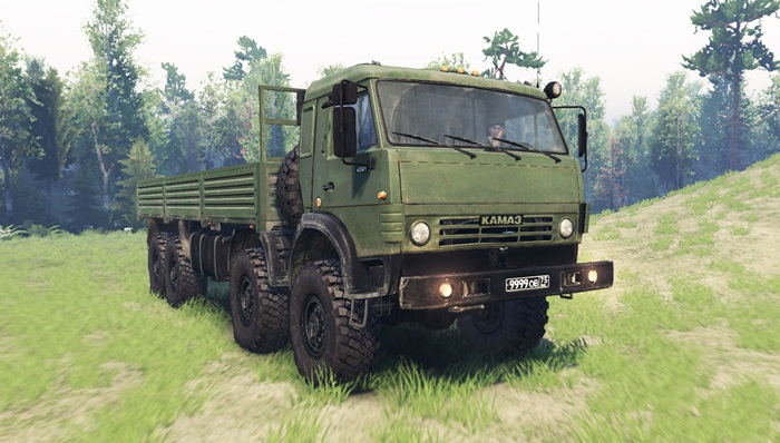 Photo of Spintires 2014 – KamAZ 63501 Kamyon Modu