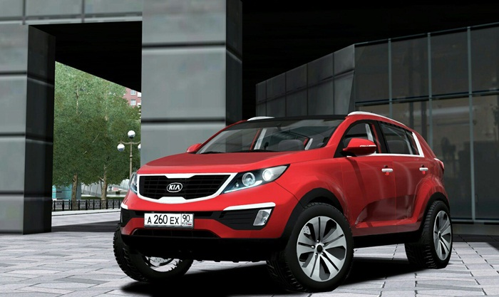 Photo of City Car Driving 1.5.x/1.5.4 – Kia Sportage 2011 Model