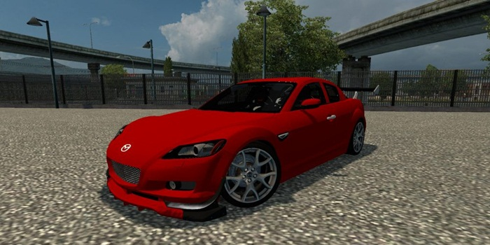 Photo of Euro Truck 2 – Mazda RX8 Araba Yaması [1.28]