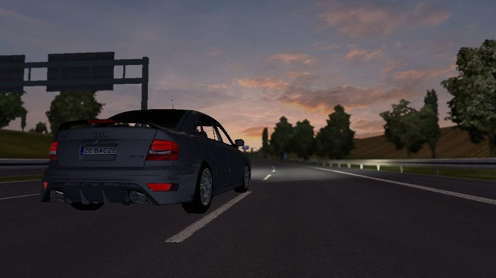 Photo of Euro Truck 2 – Audi A4 V1 [1.28]