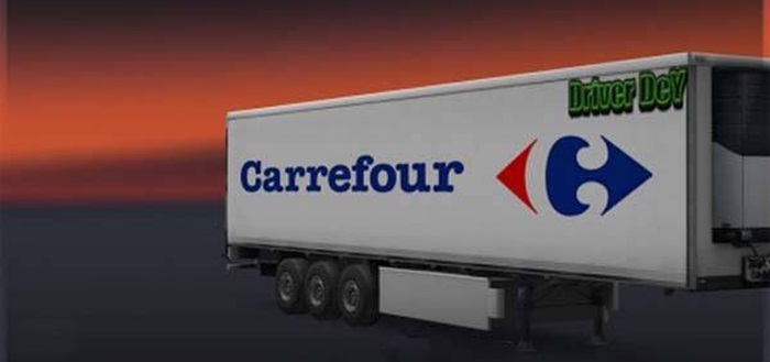 Photo of Euro Truck 2 – Carrefour Dorse Modu [1.28]