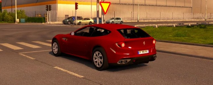 Photo of Euro Truck 2 – Ferrari FF Araba Modu [1.28]