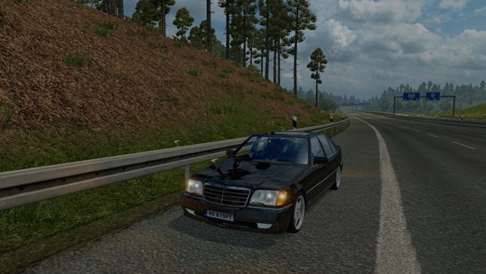 Photo of Euro Truck 2 – Mercedes S600 W140 V1 [1.28]