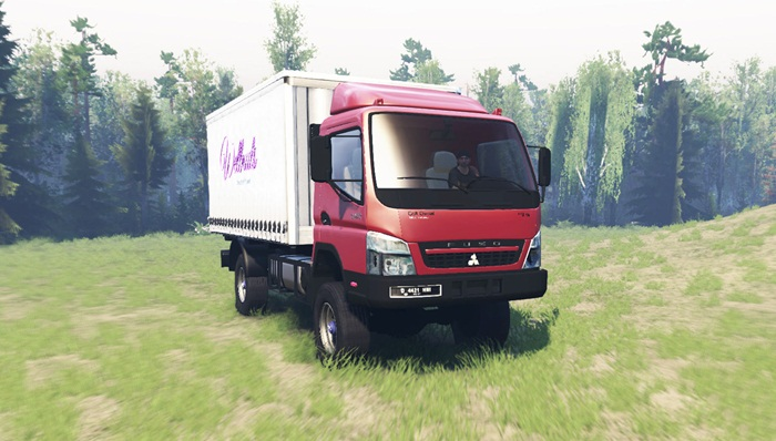 Photo of Spintires 2014 – Mitsubishi Fuso Canter (FE7) Kamyon Modu v1.1