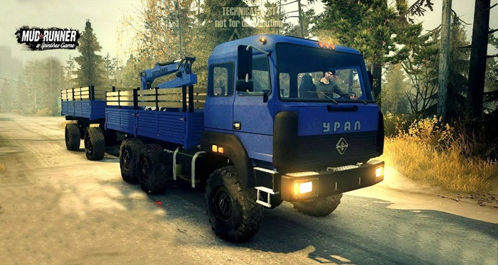 Photo of SpinTires: Mudrunner – Ural 4320-3111-78 Kamyon Modu v1.2