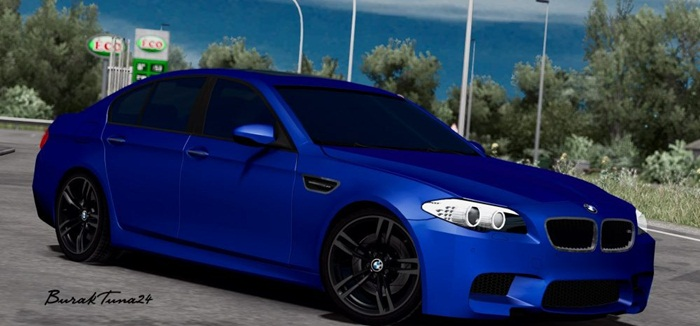 Photo of Euro Truck 2 – BMW M5 F10 Araba Modu V4 [1.28]