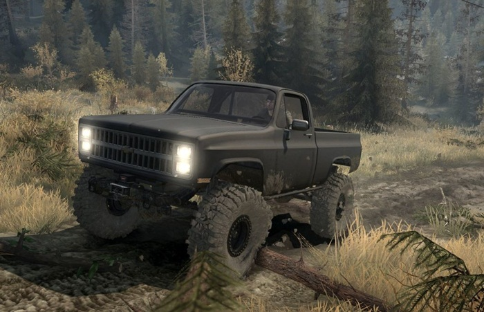Photo of SpinTires MudRunner – Chevy K10 1982 Model