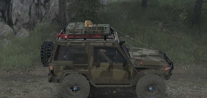 Photo of SpinTires MudRunner – Daihatsu Taft