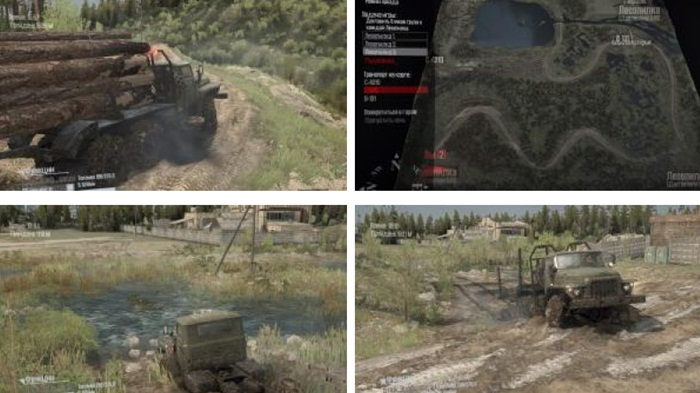 Photo of SpinTires MudRunner – Damba Haritası V1