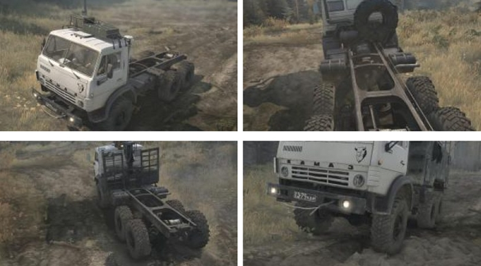 Photo of SpinTires MudRunner – KamAZ-4310 Bezon Kamyon Modu
