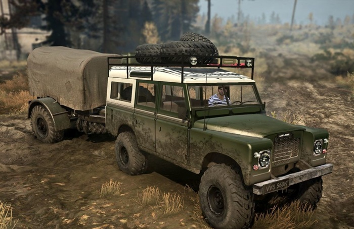 Photo of SpinTires MudRunner – Land Rover Serisi III v1.0