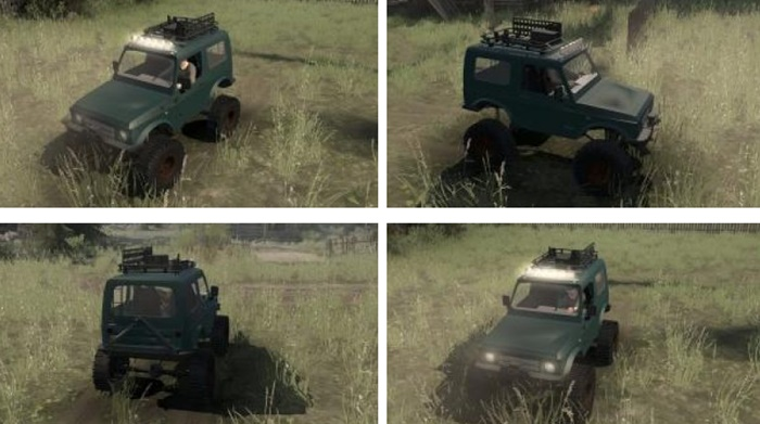 Photo of SpinTires MudRunner – Suzuki Samurai