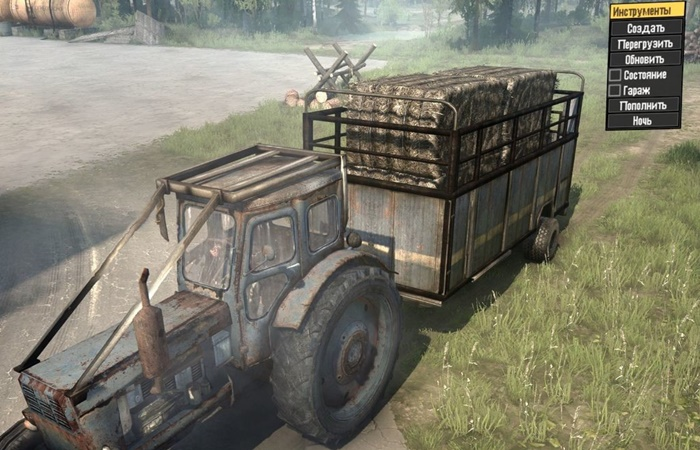 Photo of SpinTires MudRunner – T-40 Traktör