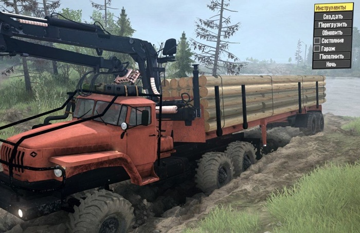 Photo of SpinTires MudRunner – Ural-4320-41 SVE Kamyon Modu